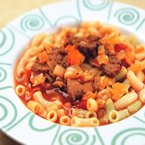 義式蔬菜牛肉湯麵