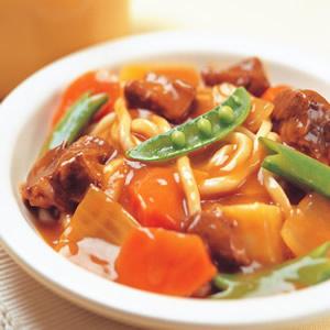 咖哩牛腩烏龍麵