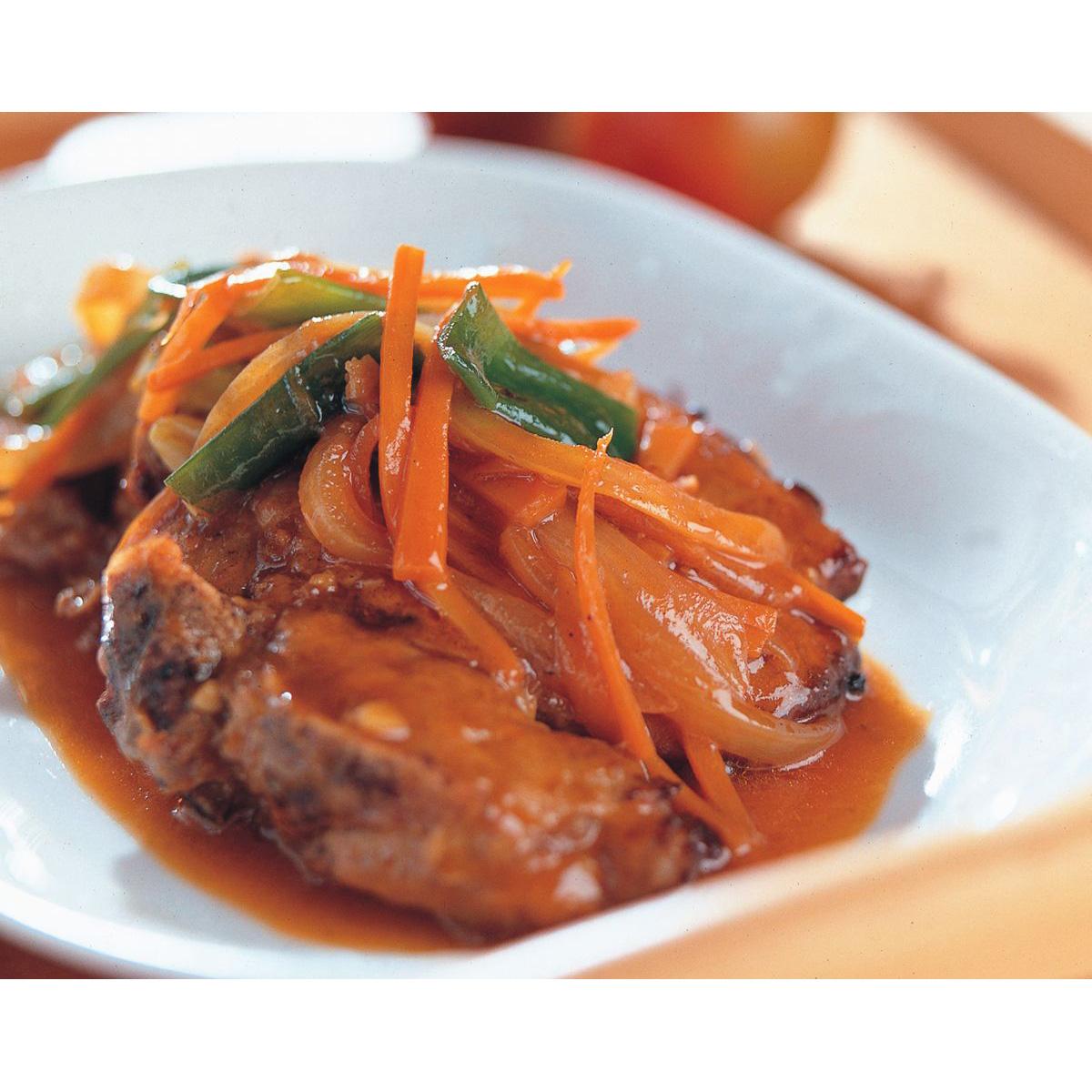 食譜:茄汁豬排