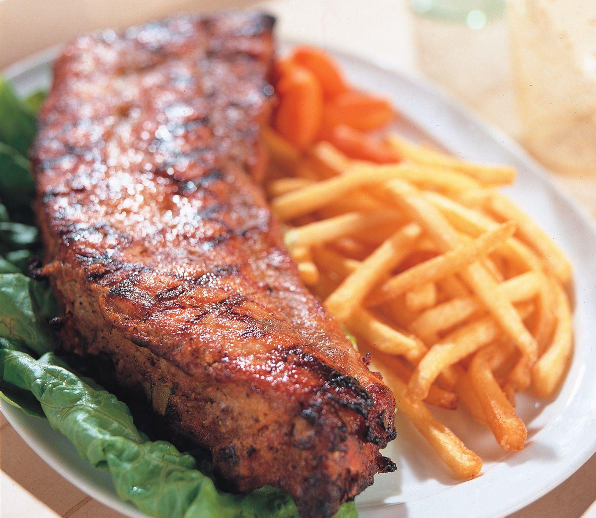 食譜:美式烤肋排