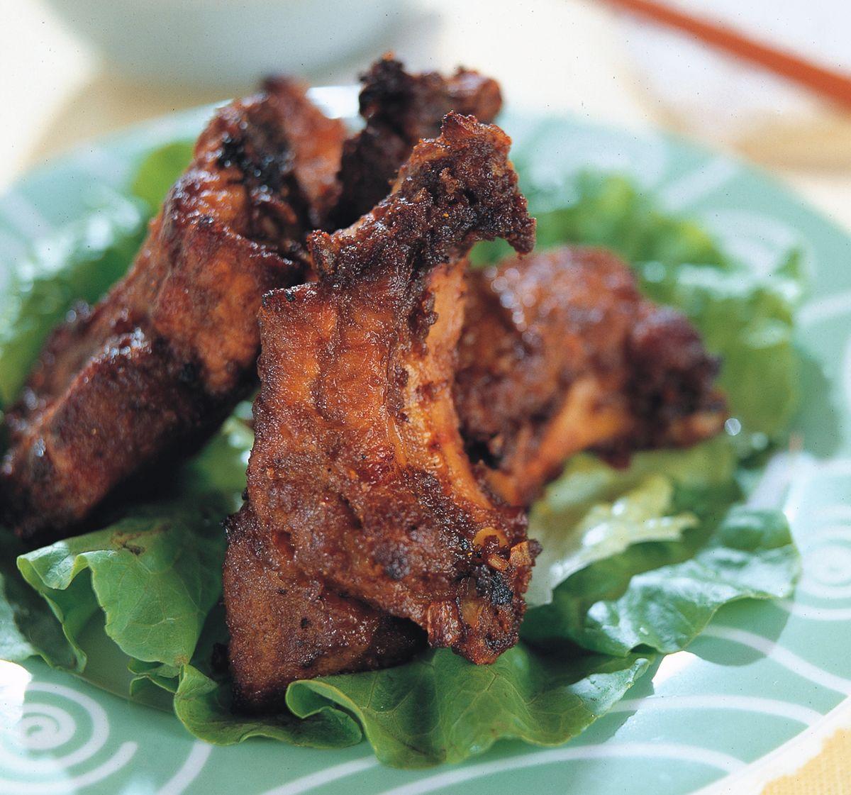 食譜:咖哩排骨