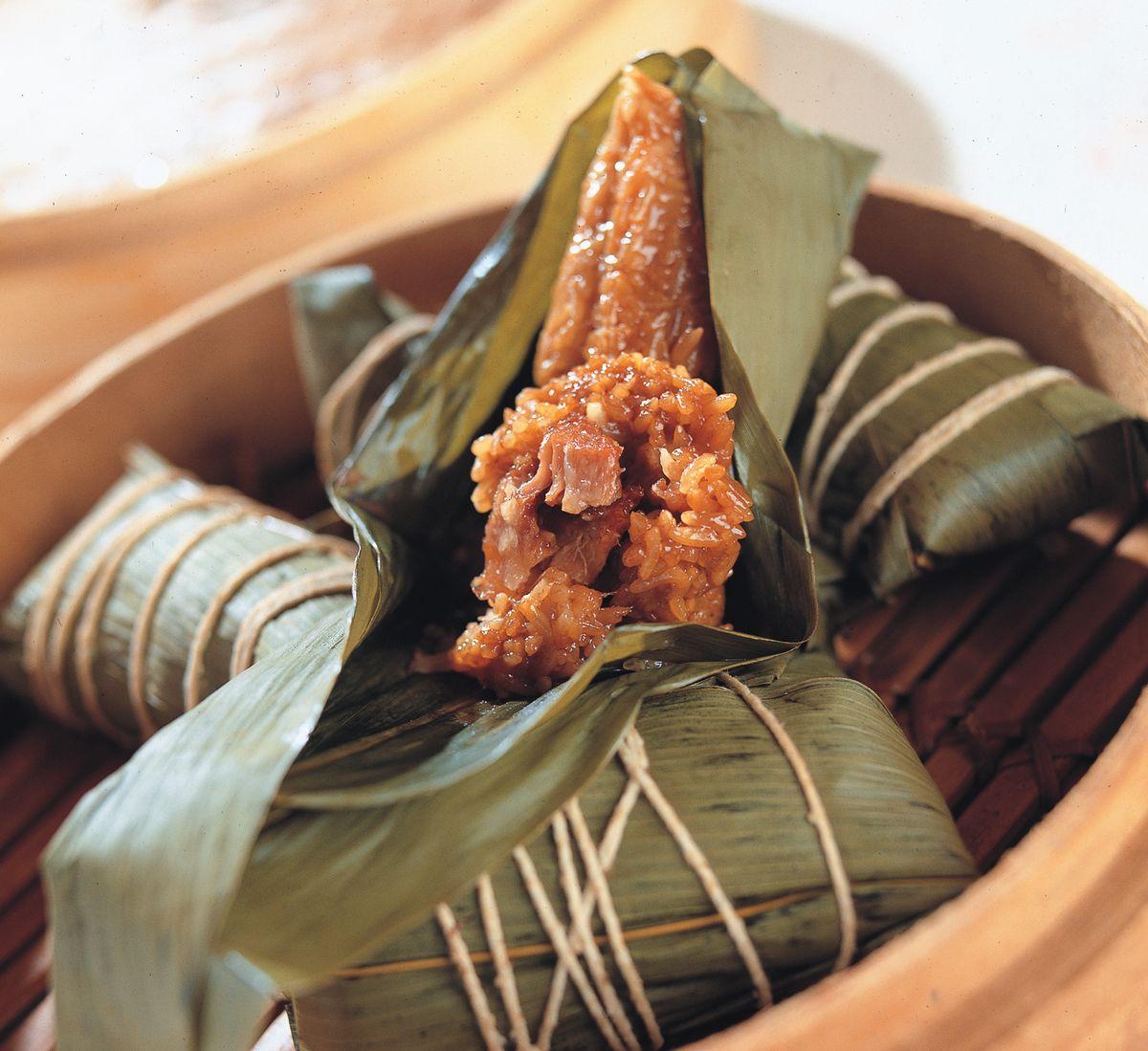食譜:廣式排骨肉粽