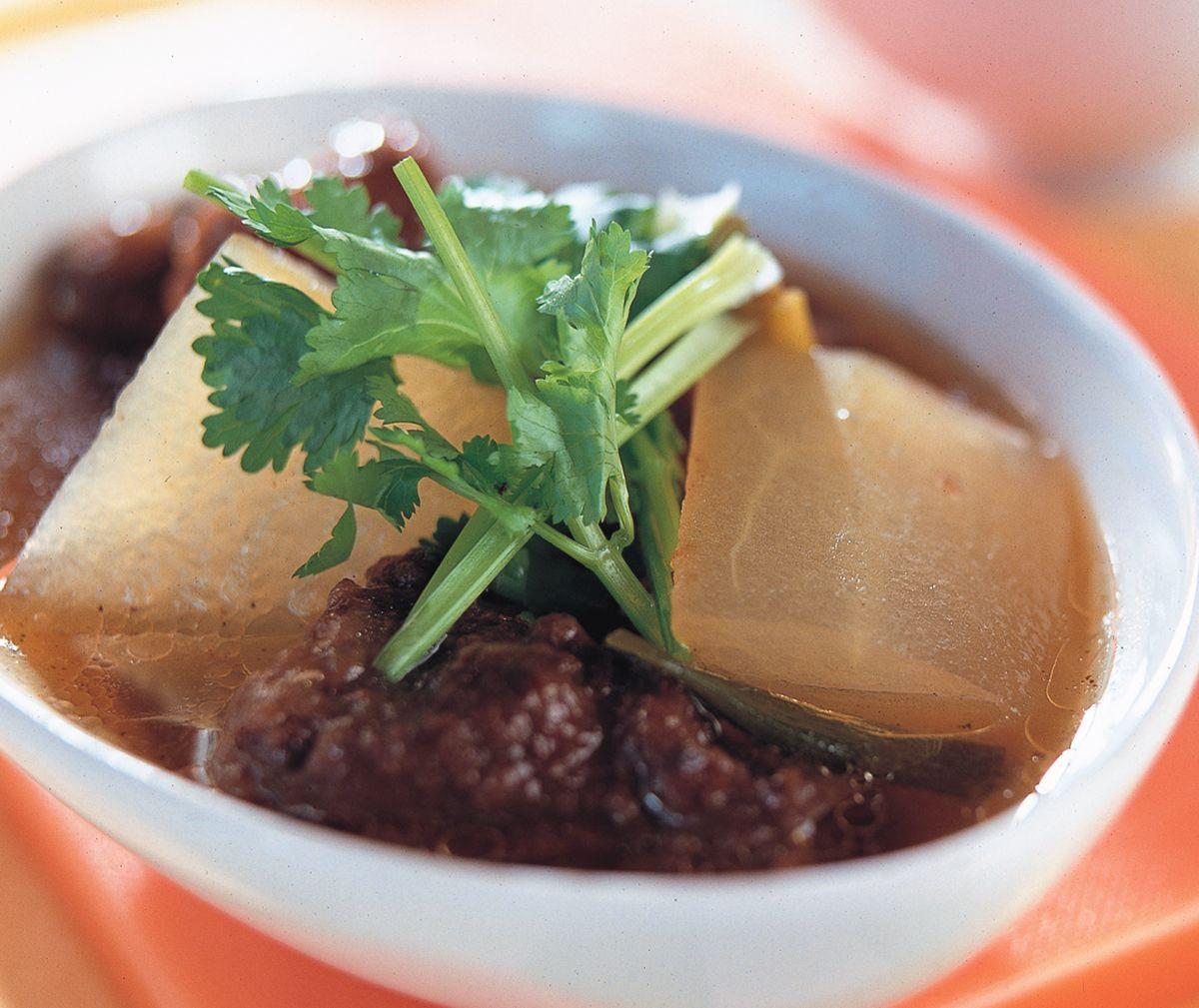 食譜:排骨酥冬瓜湯