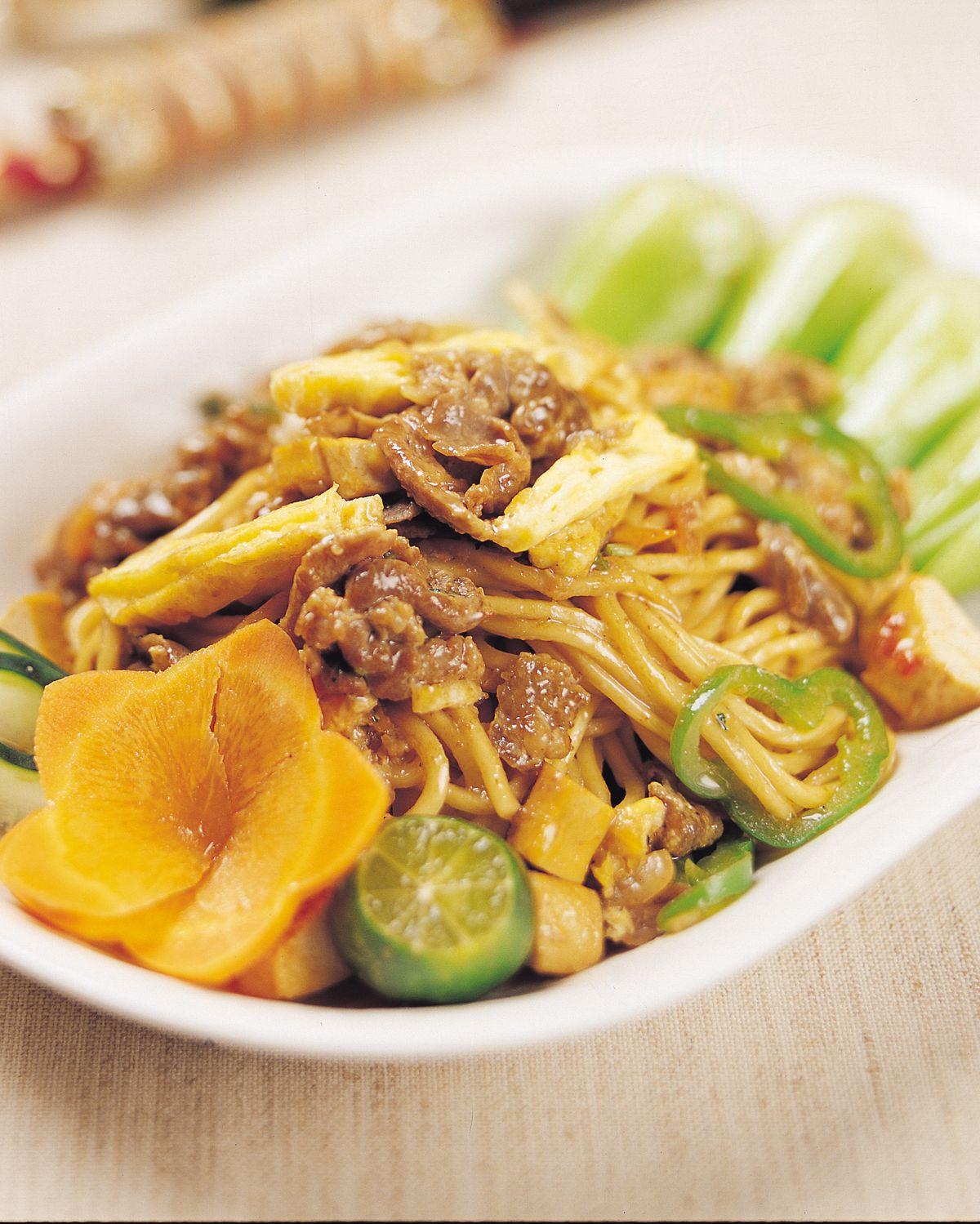 食譜:印尼炒麵