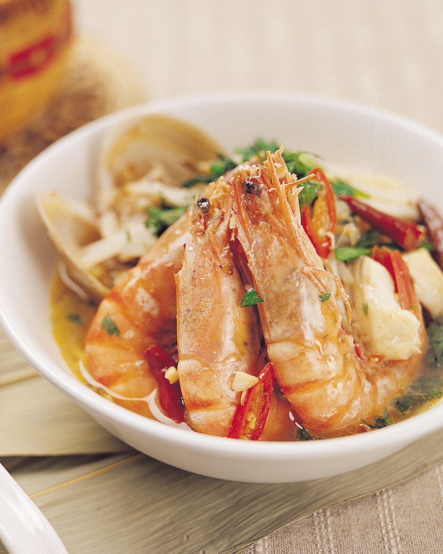 食譜:新加坡蝦麵