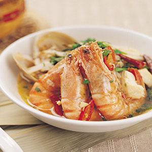 新加坡蝦麵