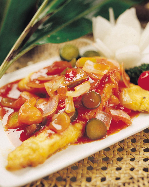 食譜:馬來式酸甜魚(1)