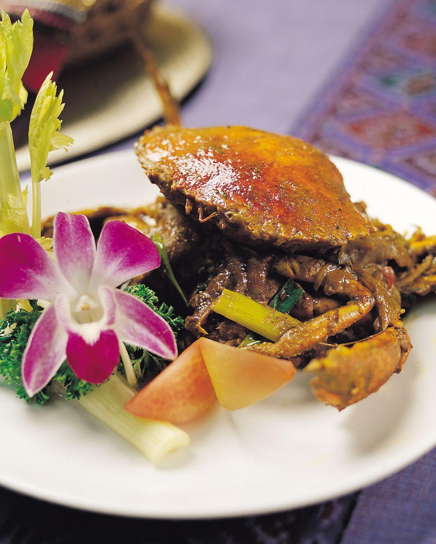 食譜:咖哩螃蟹(1)
