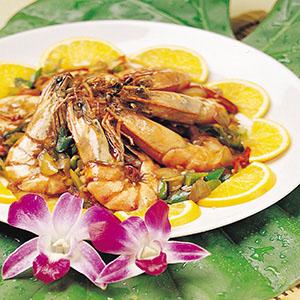 香炒辣味蝦