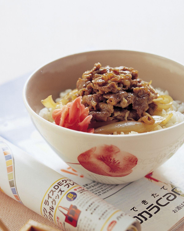 食譜:牛丼飯