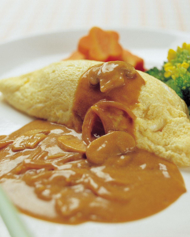 食譜:咖哩蛋包飯