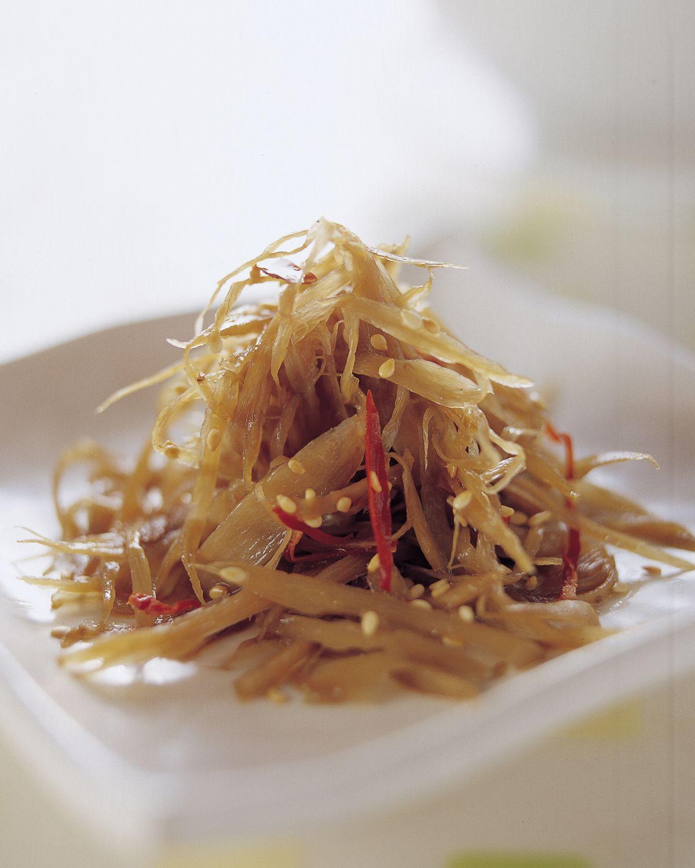 食譜:金平牛蒡(2)