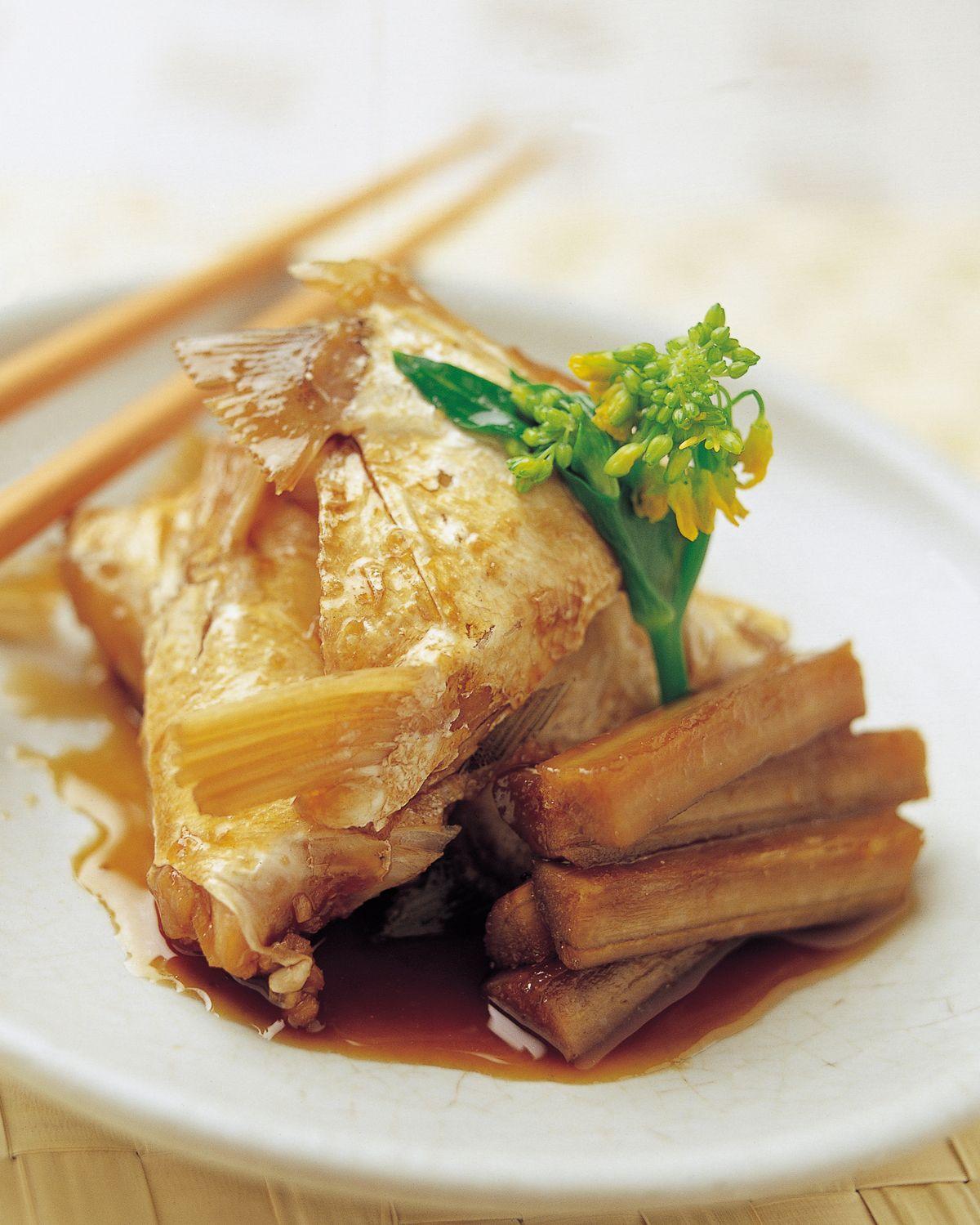 食譜:紅燒魚下巴