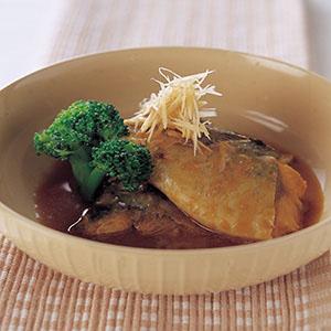 青花魚味噌煮