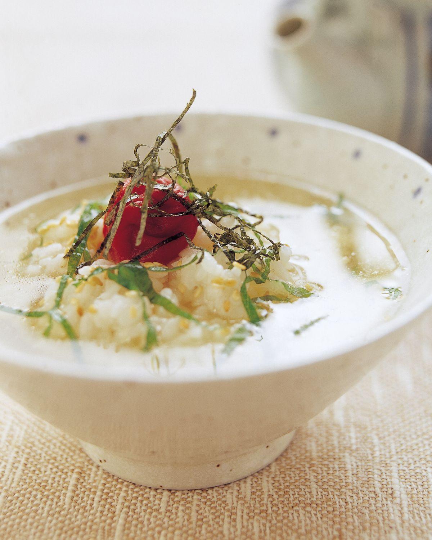 食譜:梅子茶泡飯