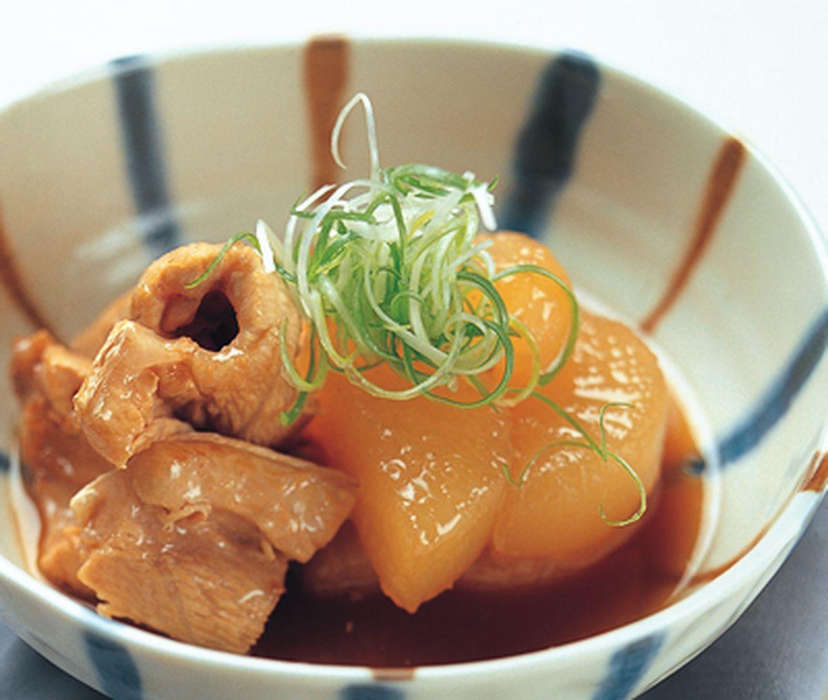 食譜:魚雜燉蘿蔔