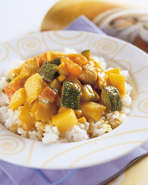食譜:椰汁咖哩飯