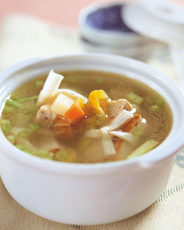 食譜:柴把湯