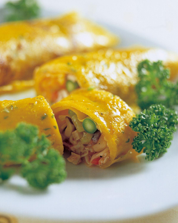 食譜:蔬菜捲餅