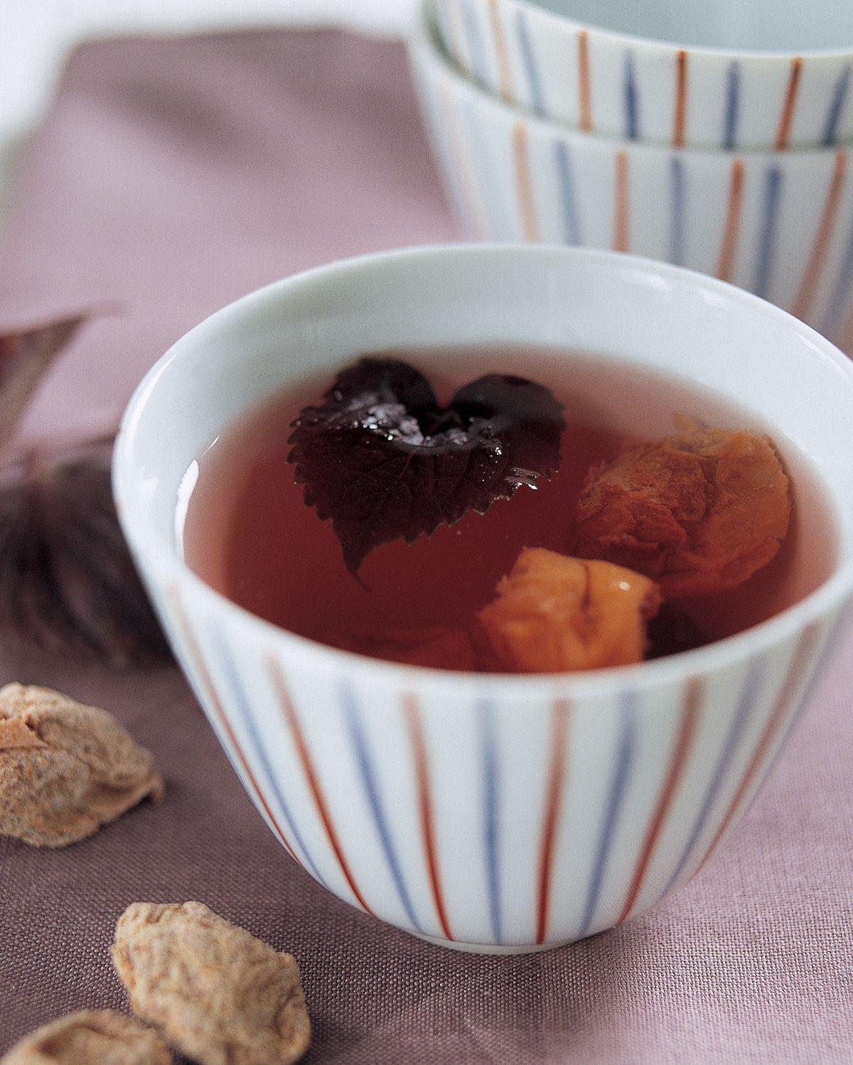 食譜:紫蘇梅子茶