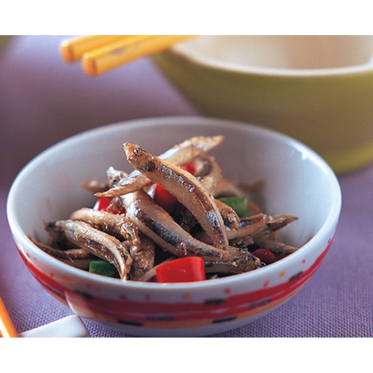 食譜:辣椒小魚