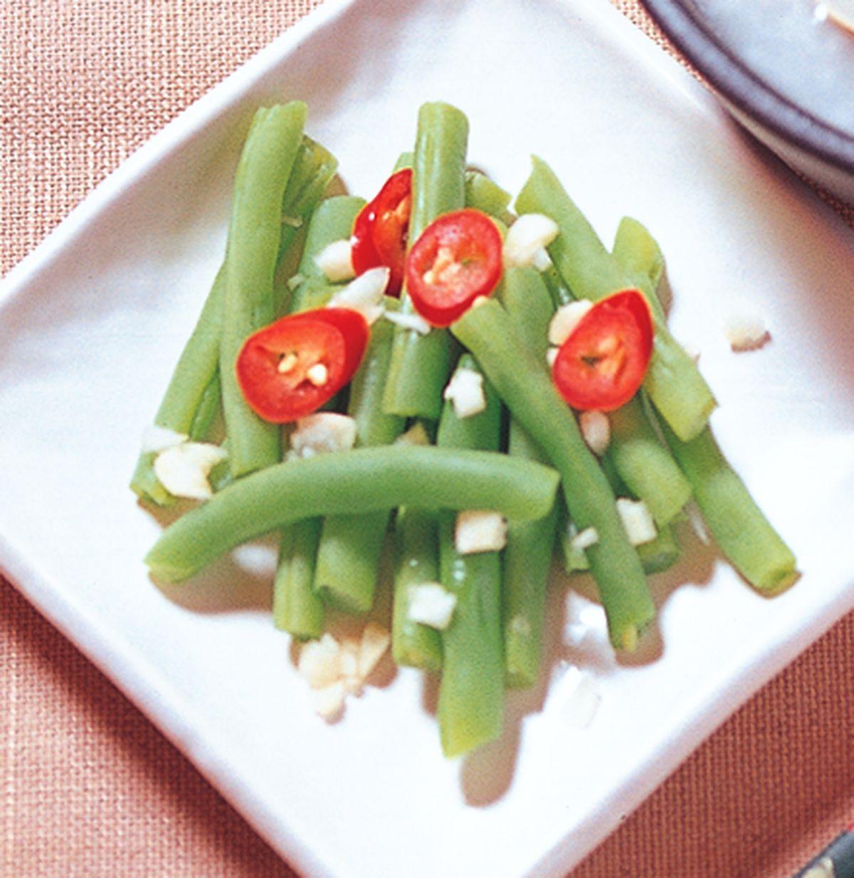 食譜:涼拌四季豆
