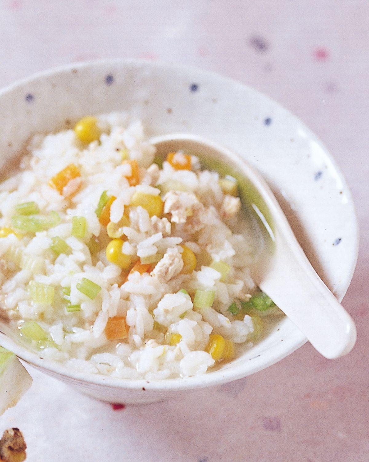食譜:雞蓉玉米粥