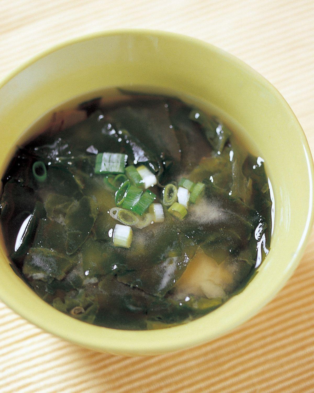 食譜:海芽味噌湯