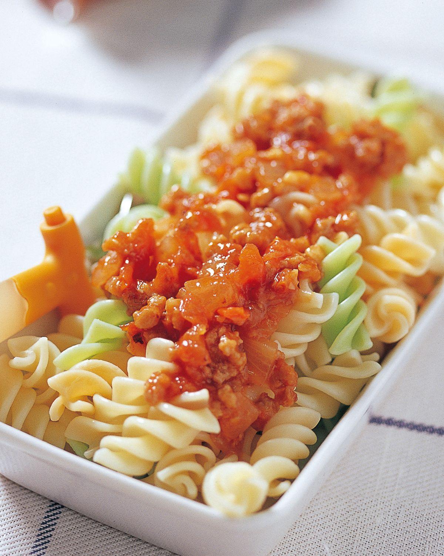 食譜:茄汁肉醬螺絲麵