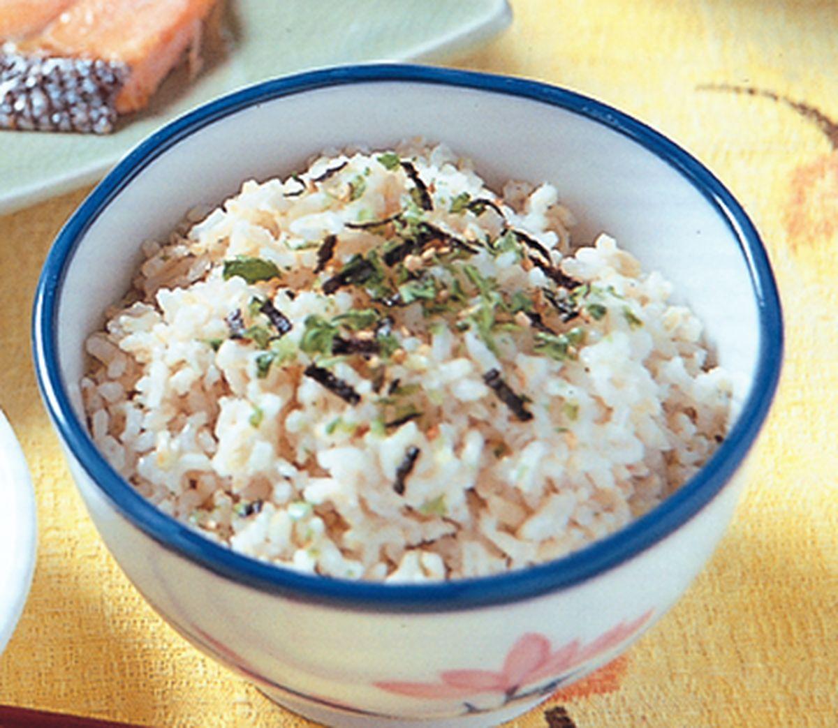 食譜:胚芽米飯(1)