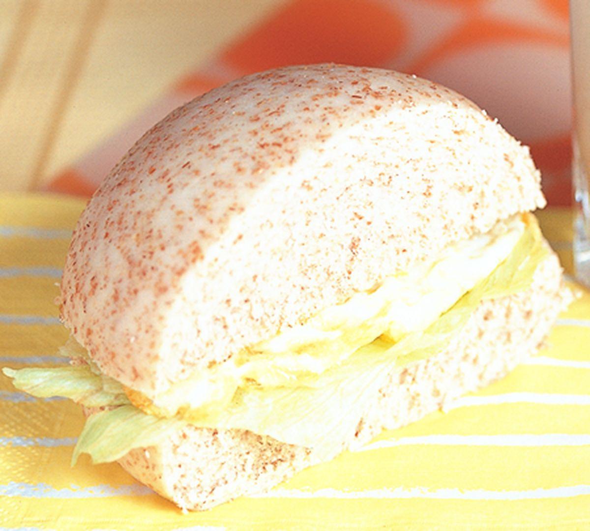 食譜:全麥饅頭夾蛋