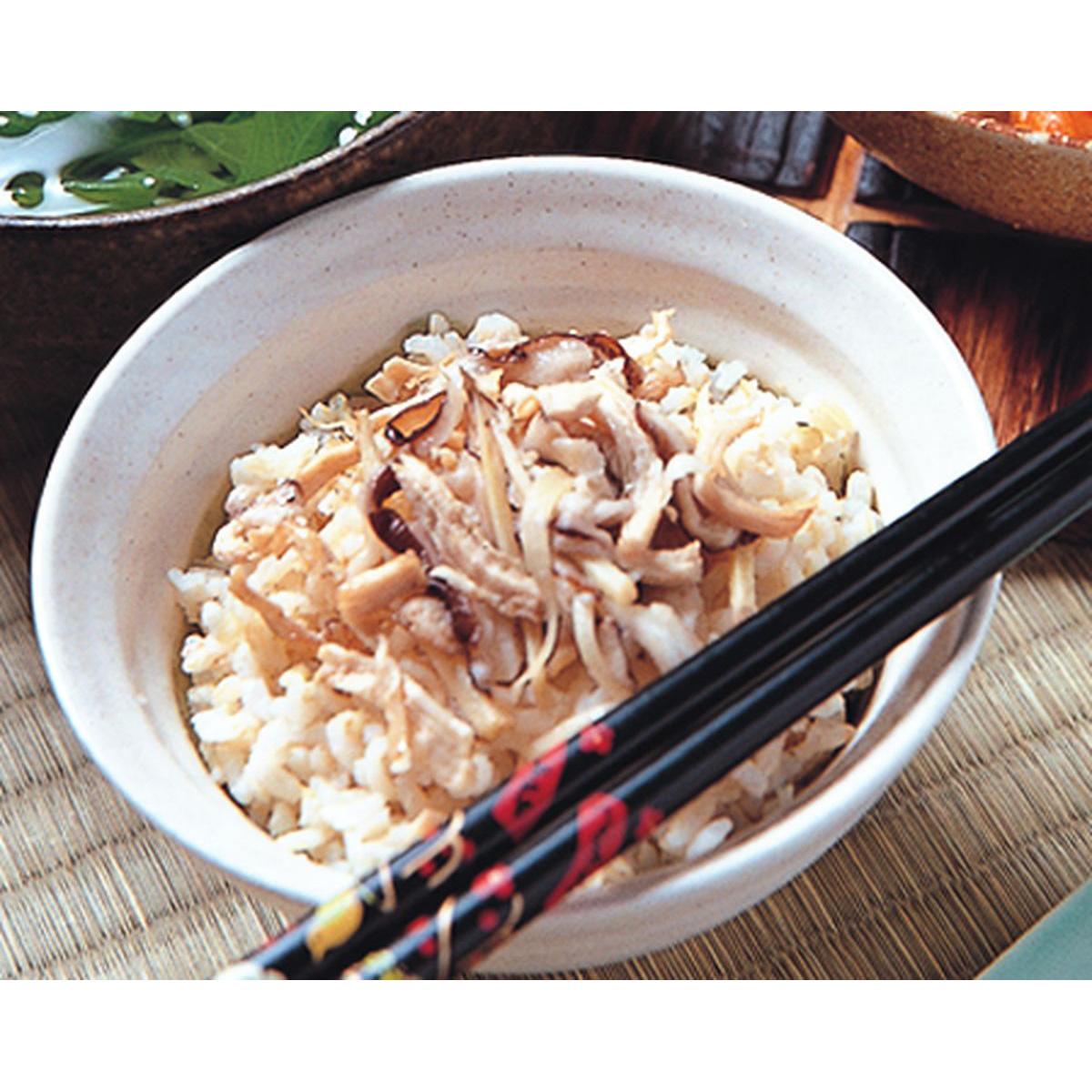 食譜:香菇雞絲飯
