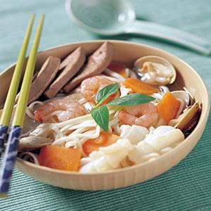 三鮮豬肝麵