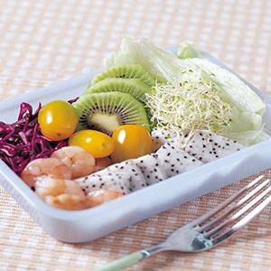蝦仁蔬果沙拉