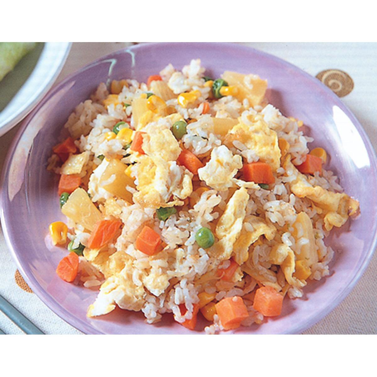 食譜:鳳梨蛋炒飯
