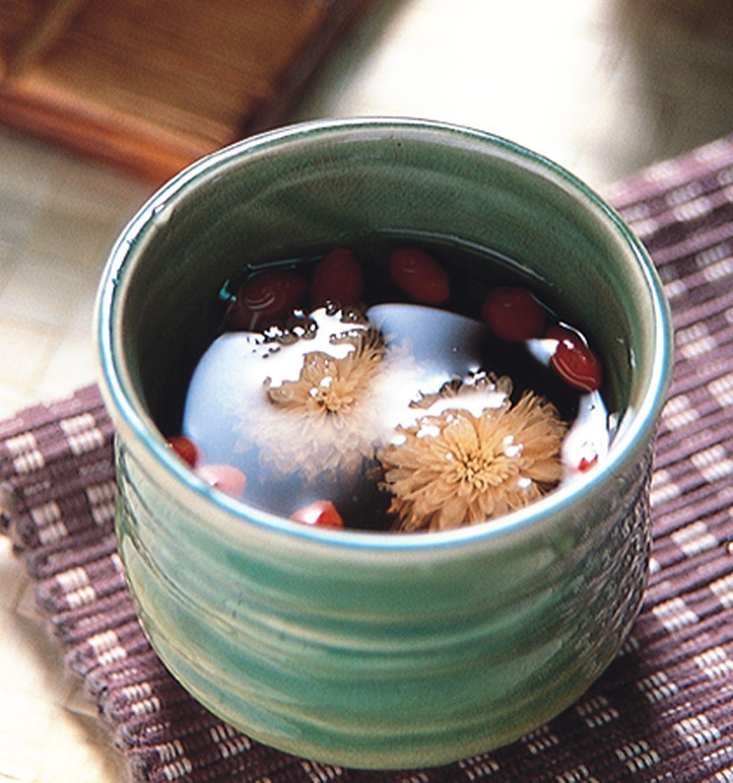 食譜:菊花枸杞茶