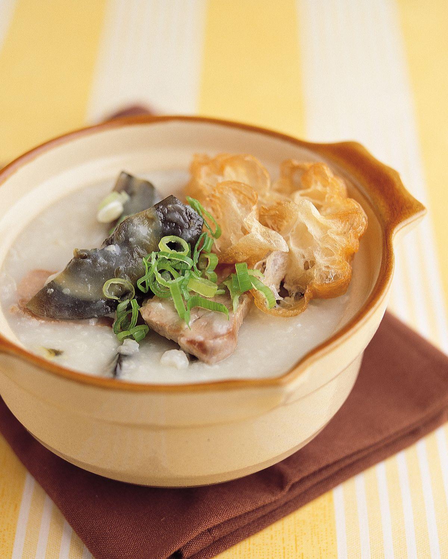 食譜:皮蛋瘦肉粥