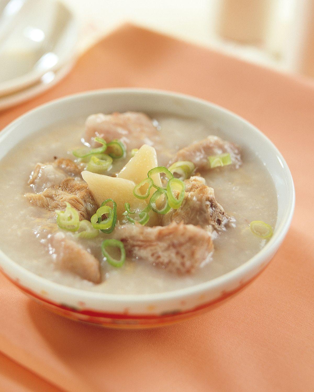 食譜:香芋排骨粥