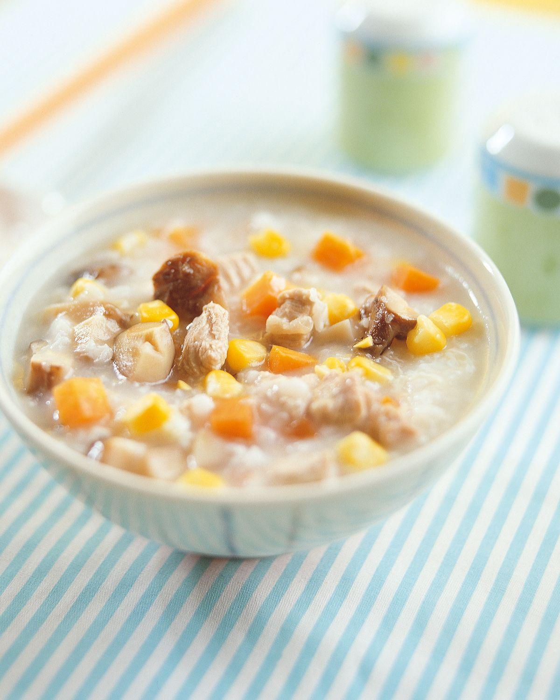 食譜:香菇玉米粥