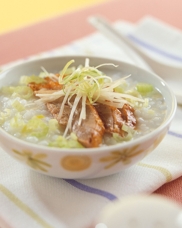 食譜:鴨肉粥