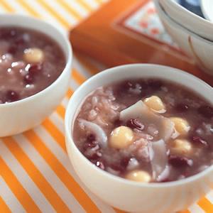 百合蓮子紅豆粥