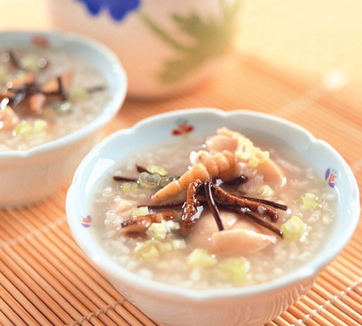 食譜:養生冬蟲夏草粥
