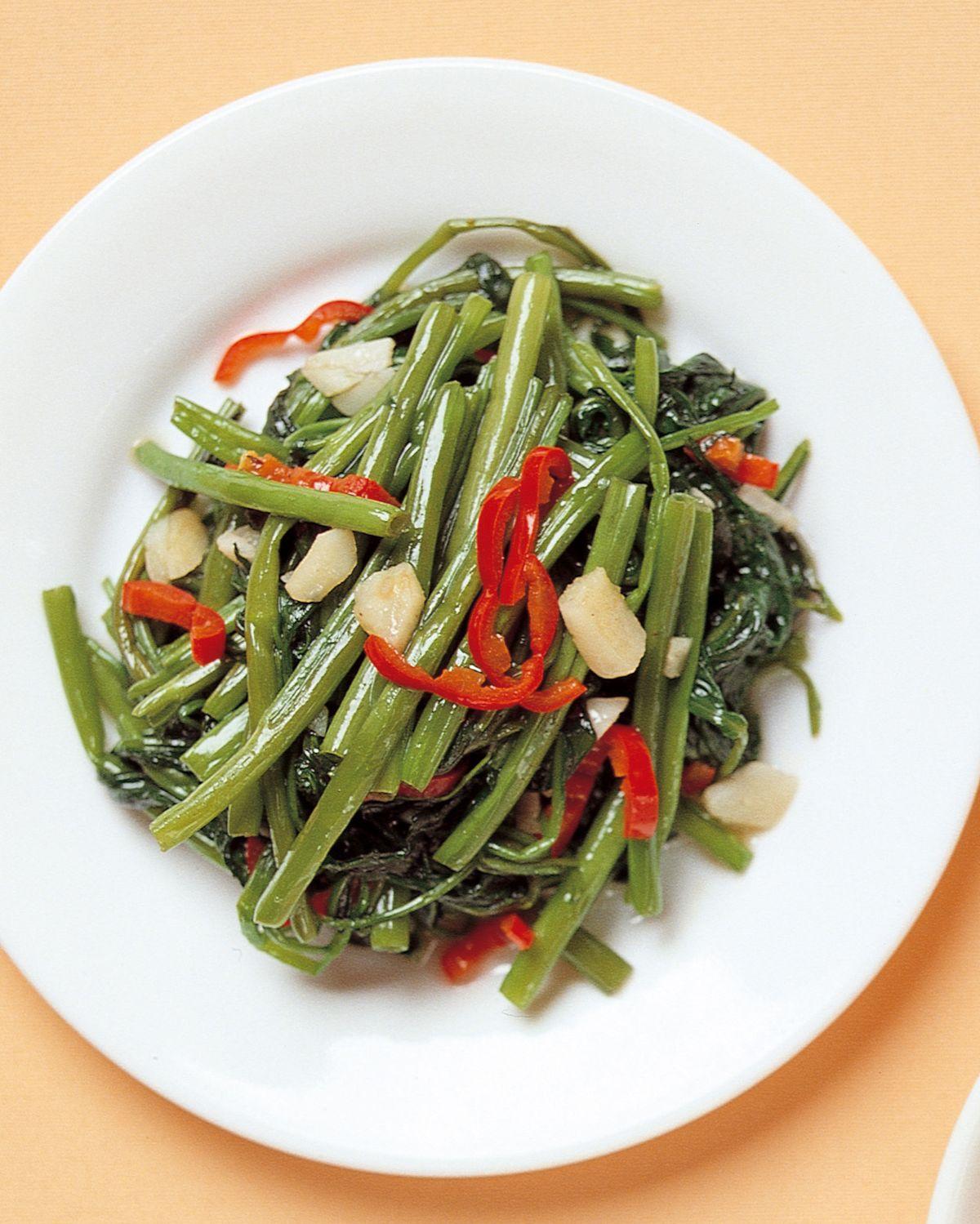 食譜:炒空心菜