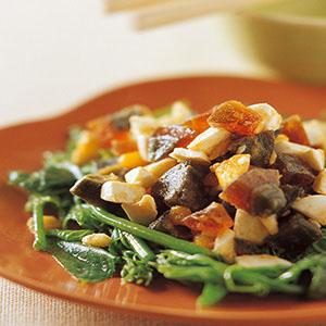金銀蛋炒青菜