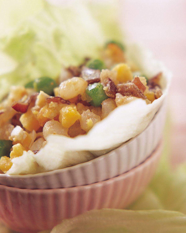 食譜:鹹蛋蝦鬆