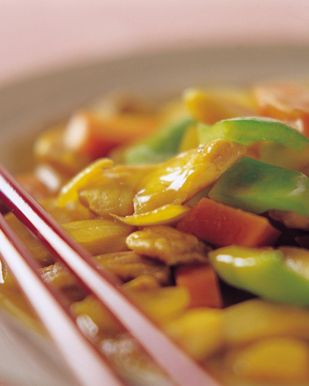 食譜:咖哩鯛魚片