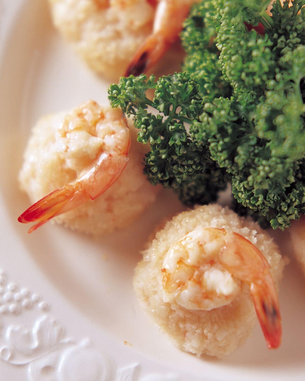 食譜:鮮蝦山藥球