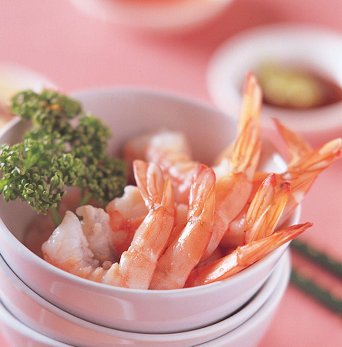 食譜:四味蝦