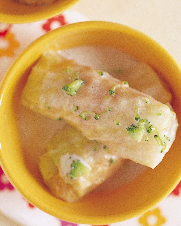 食譜:奶油菜捲