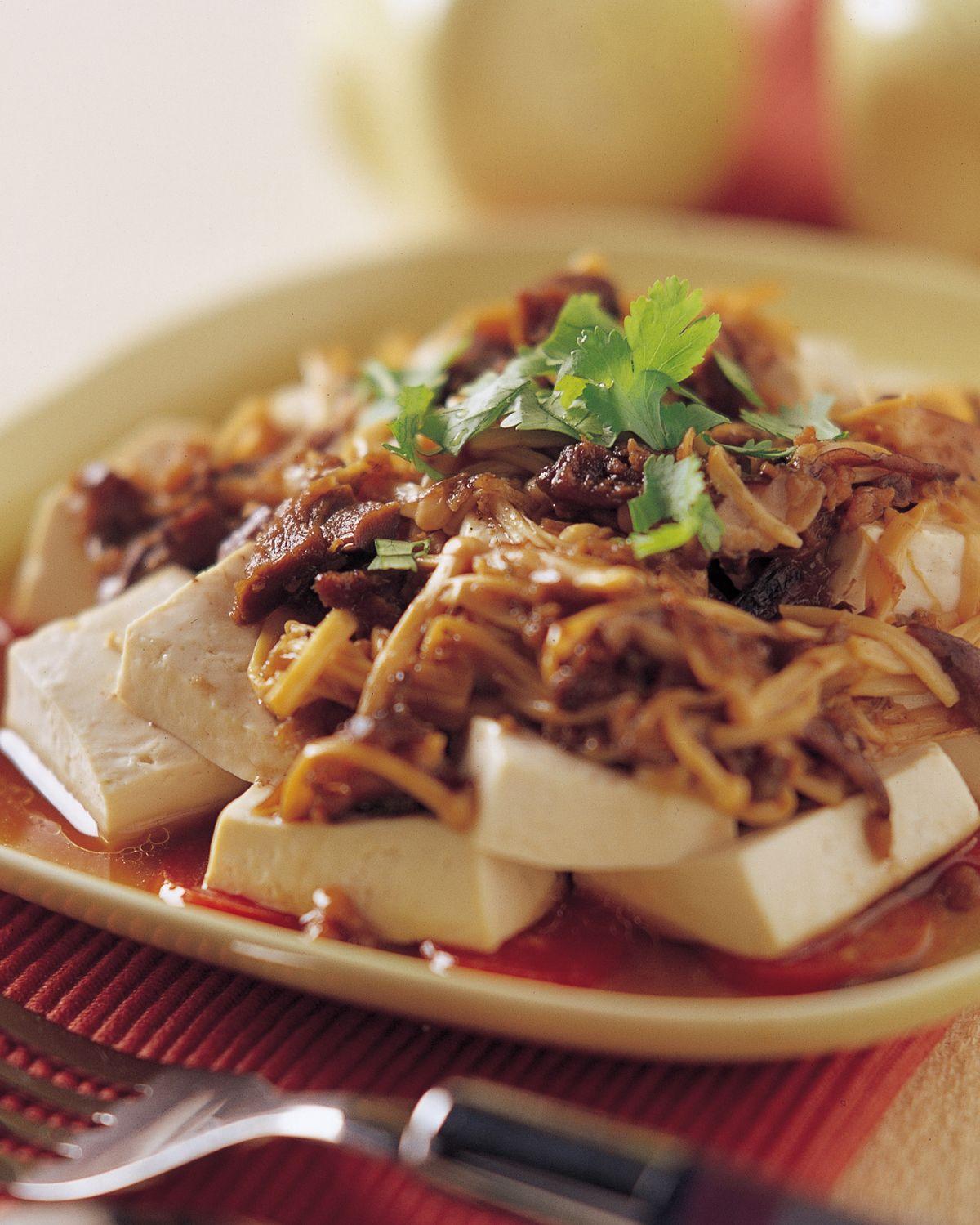 食譜:珍菇豆腐